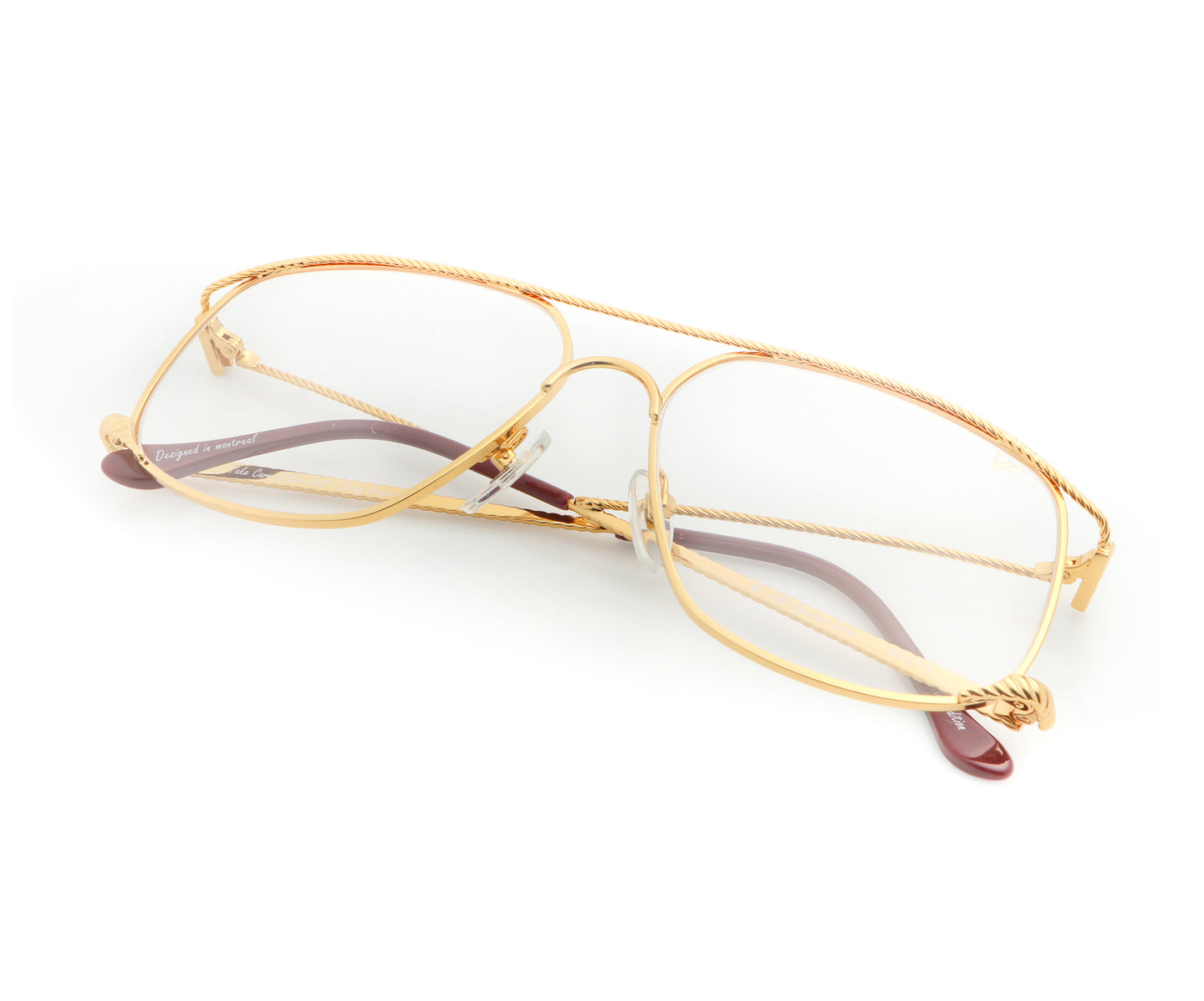 VF The Butcher 24KT Gold (Clear), VF Masterpiece , glasses frames, eyeglasses online, eyeglass frames, mens glasses, womens glasses, buy glasses online, designer eyeglasses, vintage sunglasses, retro sunglasses, vintage glasses, sunglass, eyeglass, glasses, lens, vintage frames company, vf