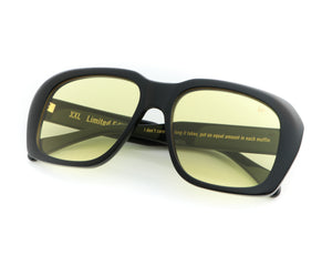 VF XXL Black (Yellow), VF Masterpiece, vintage frames, vintage frame, vintage sunglasses, vintage glasses, retro sunglasses, retro glasses, vintage glasses, vintage designer sunglasses, vintage design glasses, eyeglass frames, glasses frames, sunglass frames, sunglass, eyeglass, glasses, lens, jewelry, vintage frames company, vf