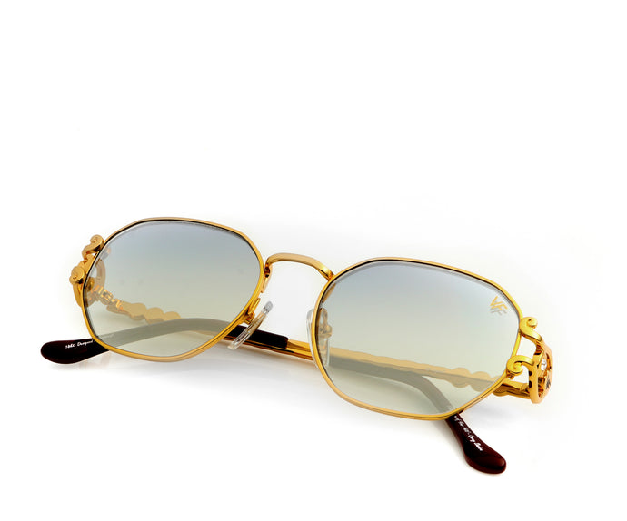 VF Legend 18KT Gold (Flash Grail), VF Masterpiece, vintage frames, vintage frame, vintage sunglasses, vintage glasses, retro sunglasses, retro glasses, vintage glasses, vintage designer sunglasses, vintage design glasses, eyeglass frames, glasses frames, sunglass frames, sunglass, eyeglass, glasses, lens, jewelry, vintage frames company, vf