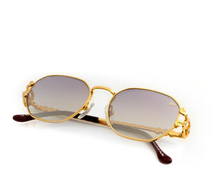 VF Legend 18KT Gold (Grape Gradient), VF Masterpiece, vintage frames, vintage frame, vintage sunglasses, vintage glasses, retro sunglasses, retro glasses, vintage glasses, vintage designer sunglasses, vintage design glasses, eyeglass frames, glasses frames, sunglass frames, sunglass, eyeglass, glasses, lens, jewelry, vintage frames company, vf