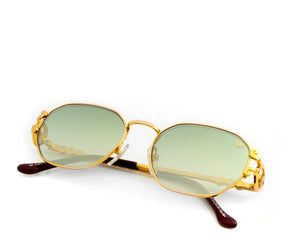 VF Legend 18KT Gold (Money Green), VF Masterpiece, vintage frames, vintage frame, vintage sunglasses, vintage glasses, retro sunglasses, retro glasses, vintage glasses, vintage designer sunglasses, vintage design glasses, eyeglass frames, glasses frames, sunglass frames, sunglass, eyeglass, glasses, lens, jewelry, vintage frames company, vf