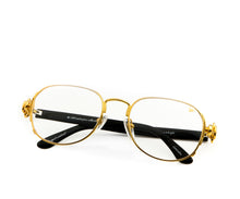 VF Notorious 24KT Gold (Clear), VF Masterpiece, glasses frames, eyeglasses online, eyeglass frames, mens glasses, womens glasses, buy glasses online, designer eyeglasses, vintage sunglasses, retro sunglasses, vintage glasses, sunglass, eyeglass, glasses, lens, vintage frames company, vf