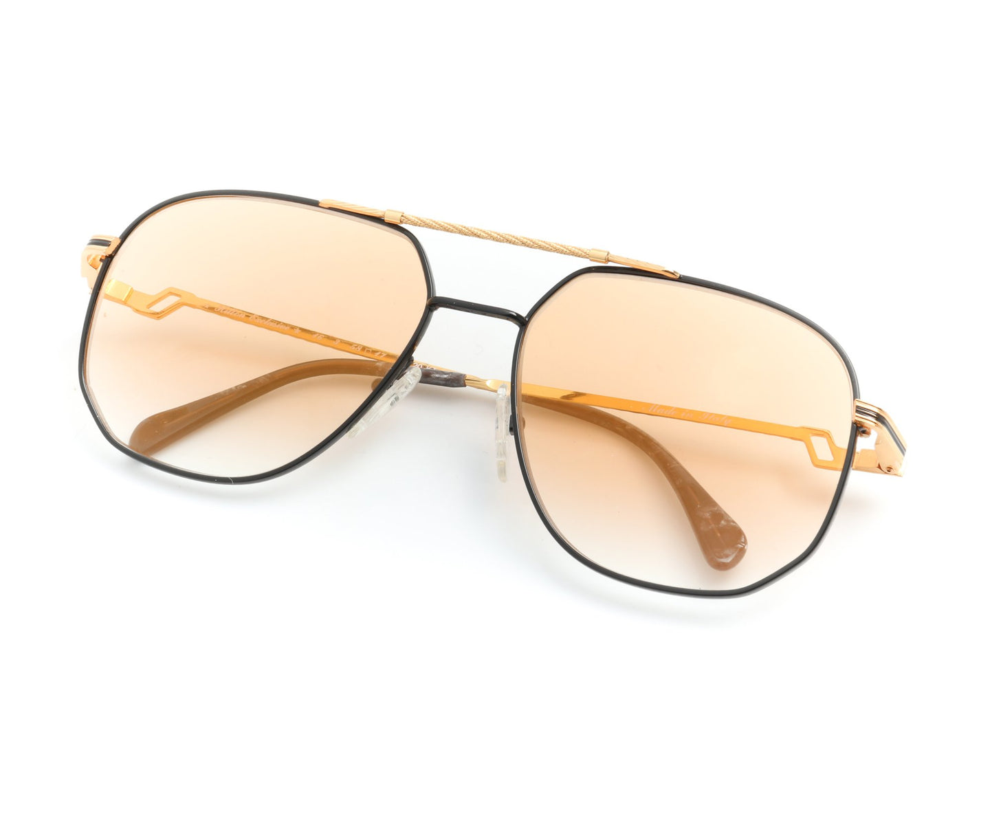Hilton Exclusive 16 3 20KT Gold Plated (Light Orange), Hilton , glasses frames, eyeglasses online, eyeglass frames, mens glasses, womens glasses, buy glasses online, designer eyeglasses, vintage sunglasses, retro sunglasses, vintage glasses, sunglass, eyeglass, glasses, lens, vintage frames company, vf