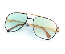 Hilton Exclusive 16 3 20KT Gold Plated (Teal Gradient), Hilton, glasses frames, eyeglasses online, eyeglass frames, mens glasses, womens glasses, buy glasses online, designer eyeglasses, vintage sunglasses, retro sunglasses, vintage glasses, sunglass, eyeglass, glasses, lens, vintage frames company, vf