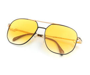 Hilton Exclusive 16 3 20KT Gold Plated (Honey Yellow), Hilton, glasses frames, eyeglasses online, eyeglass frames, mens glasses, womens glasses, buy glasses online, designer eyeglasses, vintage sunglasses, retro sunglasses, vintage glasses, sunglass, eyeglass, glasses, lens, vintage frames company, vf