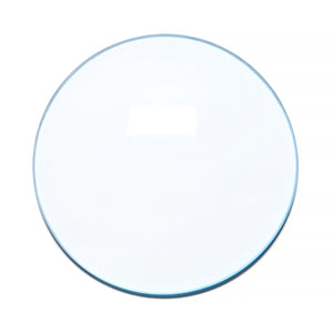 003 - Light Blue Solid Regular Curve Lens