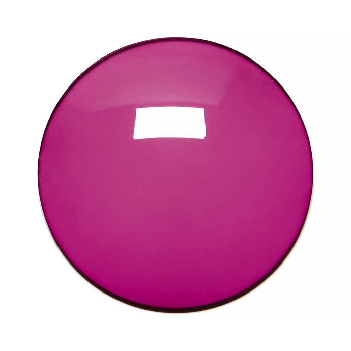 010 - Deep Purple Solid Regular Curve Lens