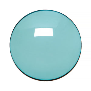 011 - Dark Mint Solid Regular Curve Lens