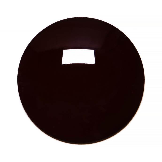 017 - Dark Brown Solid Regular Curve Lens