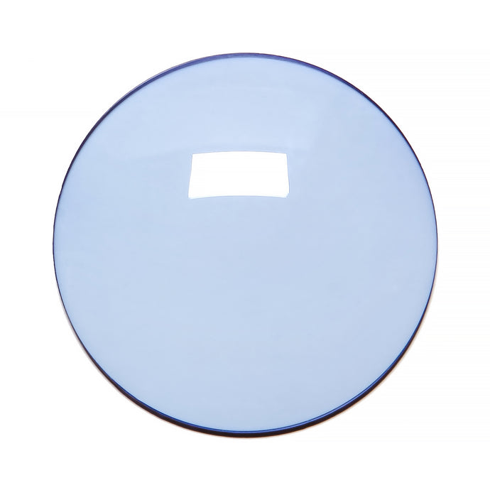 019 - New Light Blue Solid Regular Curve Lens