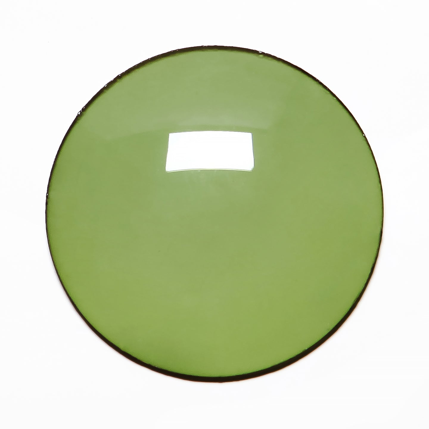 020 - Camo Green Solid Regular Curve Lens