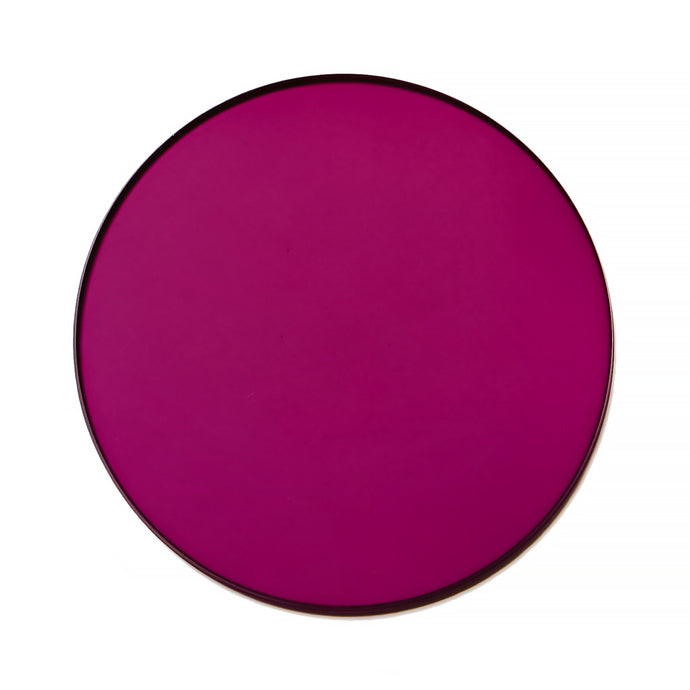 024 - Deep Purple Solid Flat Lens (Base 2)