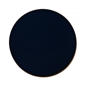 025 - Dark Blue Solid Flat Lens