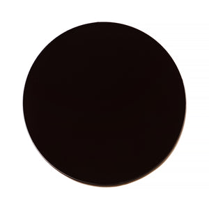 027 - Black Solid Flat Lens (Base 2)