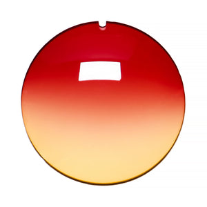 032 - Red / Yellow Gradient Regular Curve Lens