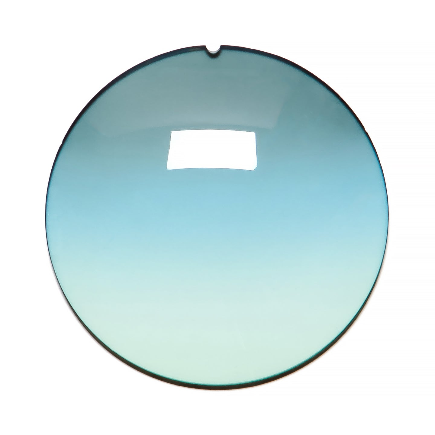 034 - Blue / Mint Gradient Regular Curve Lens