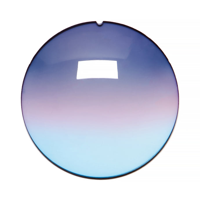 035 - Purple / Pink / Blue Gradient Regular Curve Lens