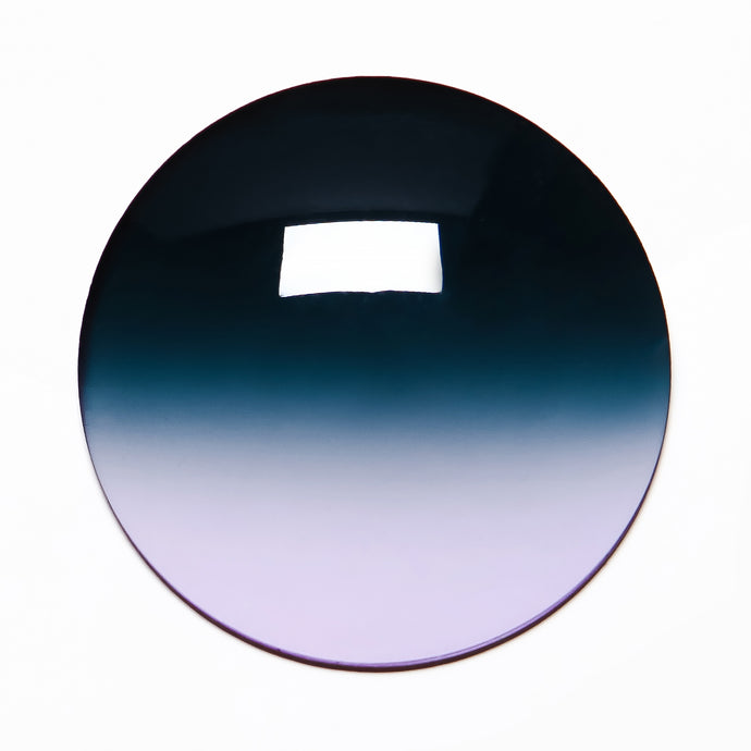 036 - Blue / Purple Gradient Regular Curve Lens