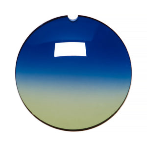 037 - Blue / Yellow Gradient Regular Curve Lens