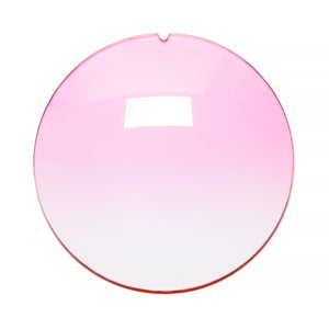 040 - Light Pink Gradient Regular Curve Lens