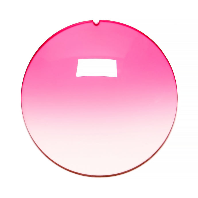 041 - Hot Pink Gradient Regular Curve Lens