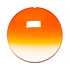 048 - Orange Gradient Regular Curve Lens