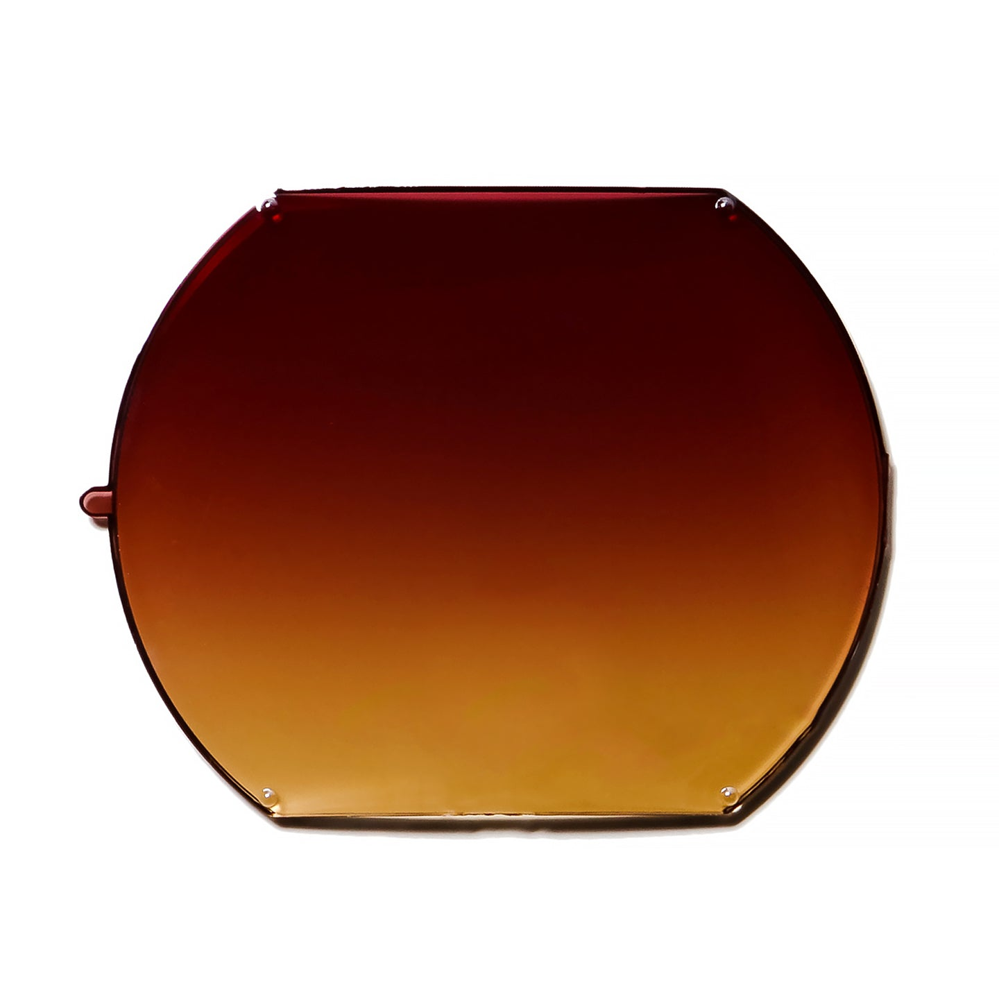 084 - White / Red Wine Gradient Flat Lens