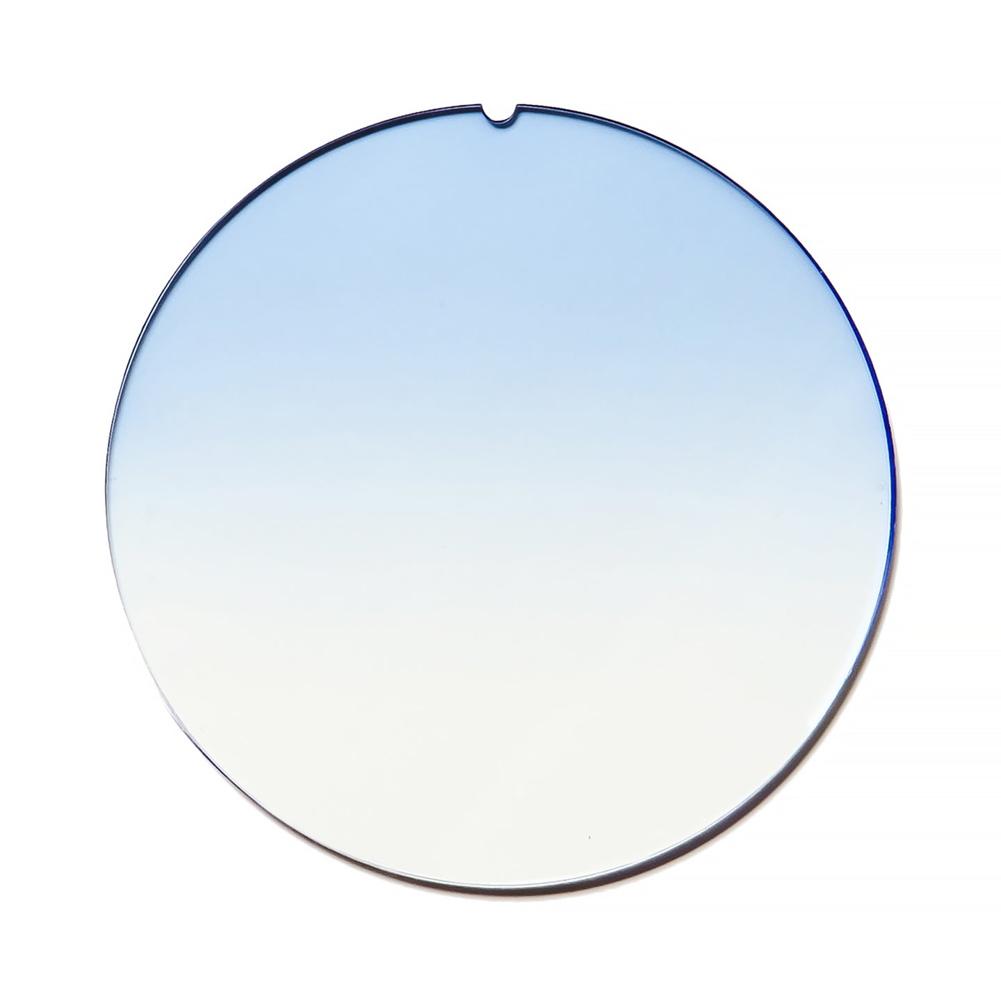 086 - Light Blue Gradient Flat Lens