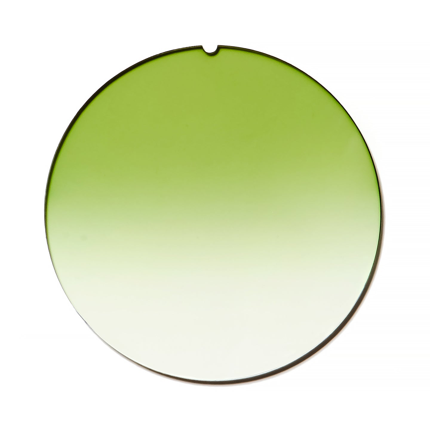 089 - Field Green Gradient Flat Lens, lens, vintage lens, clear lens, lens frames, lens frame, circle lens, mens glasses, womens glasses, lens width, vintage frames company, vf