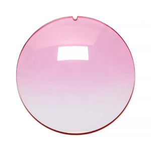 118 - Light Pink Gradient Regular Curve Flash Gold Lens, lens, vintage lens, clear lens, lens frames, lens frame, circle lens, mens glasses, womens glasses, lens width, vintage frames company, vf