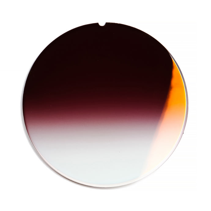 147 - Grape Gradient Flat Flash Gold Lens