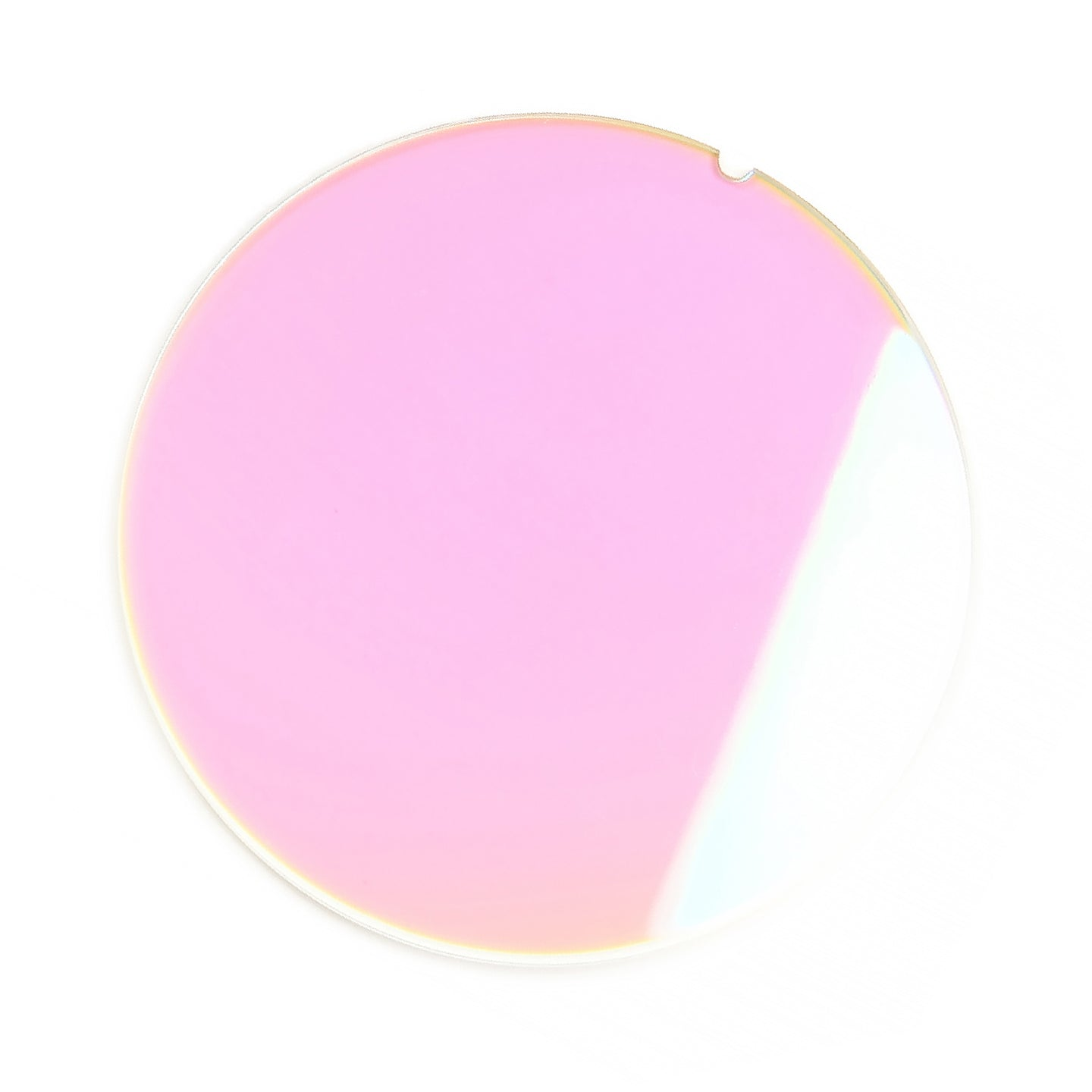 183 - Pink Solid Flat Multi Flash Lens
