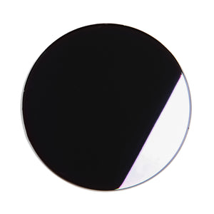 218 - Black Purple Flat Mirror Lens