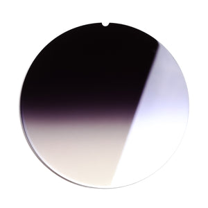 232 - Grey Gradient Flash Blue Flat Lens