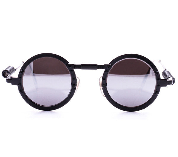 Vintage Action 2636 Black Sunglasses Front