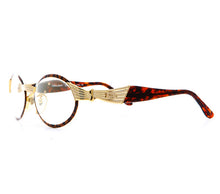 CB F154 10 Special Edition Flash Gold Side, CB, glasses frames, eyeglasses online, eyeglass frames, mens glasses, womens glasses, buy glasses online, designer eyeglasses, vintage sunglasses, retro sunglasses, vintage glasses, sunglass, eyeglass, glasses, lens, vintage frames company, vf