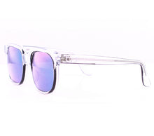 Emmanuelle Khahn 8082 Clear Iridium Lenses Side