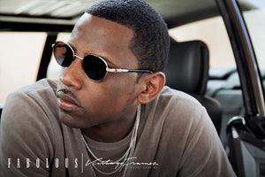 Fabolous For Vintage Frames 24kt Gold Sunglasses