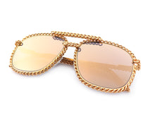 VF Full Cuban Snatch 24KT Gold (Gold Mirror), VF Masterpiece, glasses frames, eyeglasses online, eyeglass frames, mens glasses, womens glasses, buy glasses online, designer eyeglasses, vintage sunglasses, retro sunglasses, vintage glasses, sunglass, eyeglass, glasses, lens, vintage frames company, vf