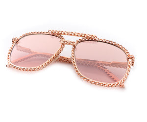 VF Full Cuban Snatch 24KT Rose Gold (Dusty Rose), VF Masterpiece, vintage frames, vintage frame, vintage sunglasses, vintage glasses, retro sunglasses, retro glasses, vintage glasses, vintage designer sunglasses, vintage design glasses, eyeglass frames, glasses frames, sunglass frames, sunglass, eyeglass, glasses, lens, jewelry, vintage frames company, vf