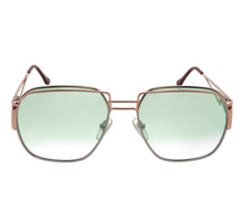 Geometric Collection: Executive 24KT Rose Gold Two-Tone (Powder Green), VF Masterpiece, glasses frames, eyeglasses online, eyeglass frames, mens glasses, womens glasses, buy glasses online, designer eyeglasses, vintage sunglasses, retro sunglasses, vintage glasses, sunglass, eyeglass, glasses, lens, vintage frames company, vf