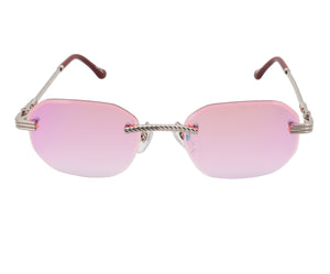 VF Hustler Drill Mount 24KT White Gold (Candy Pink), VF Drill Mount, glasses frames, eyeglasses online, eyeglass frames, mens glasses, womens glasses, buy glasses online, designer eyeglasses, vintage sunglasses, retro sunglasses, vintage glasses, sunglass, eyeglass, glasses, lens, vintage frames company, vf