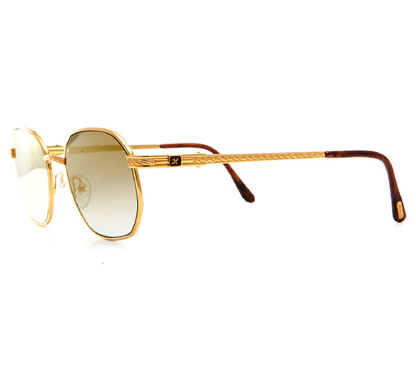 Dave East For Vintage Frames 24kt Gold Sunglasses - Vintage Frames ...