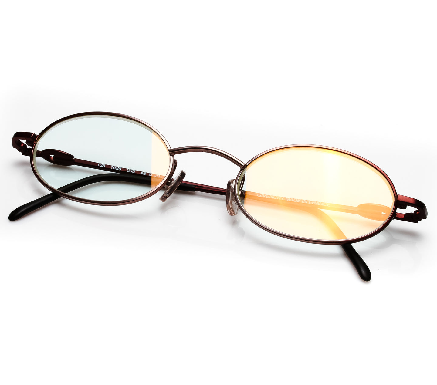 VF By Vintage Frames Givenchy Remix (Clear Flash Gold Lens) Thumbnail
