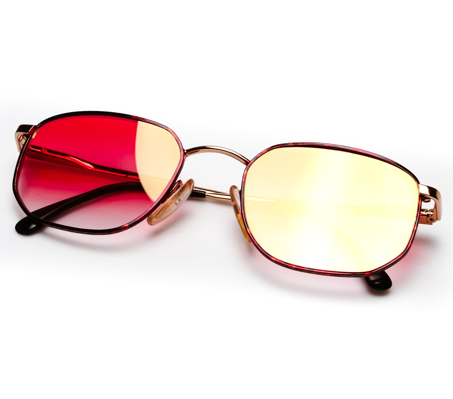 VF by Vintage Frames Detroit Player Bentley Edition (Red Gradient Flash Rose Gold Flat Lens) Thumbnail