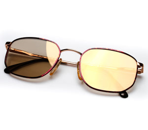 VF by Vintage Frames Detroit Player Bentley Edition (Gold Dust Flash Gold Flat Lens) Thumbnail, VF by Vintage Frames, glasses frames, eyeglasses online, eyeglass frames, mens glasses, womens glasses, buy glasses online, designer eyeglasses, vintage sunglasses, retro sunglasses, vintage glasses, sunglass, eyeglass, glasses, lens, vintage frames company, vf