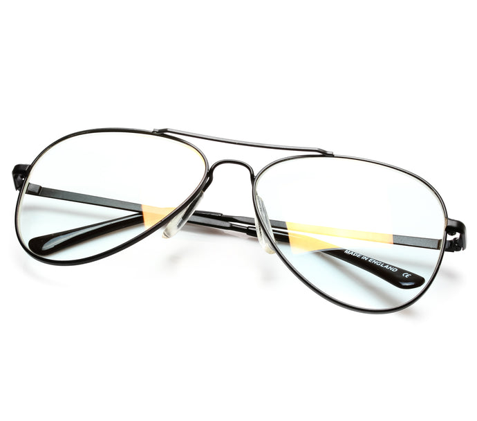 VF by Vintage Frames Escobar 2 (Clear Flash Gold Lens) Thumbnail