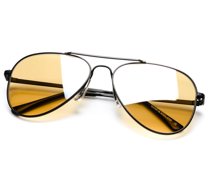 VF by Vintage Frames Escobar (Amber Flash Silver Lens) Thumbnail