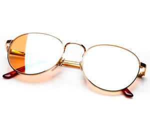 VF by Vintage Frames Bentley 21Kt OG (Yellow Multi Flash Flat Lens) Thumbnail