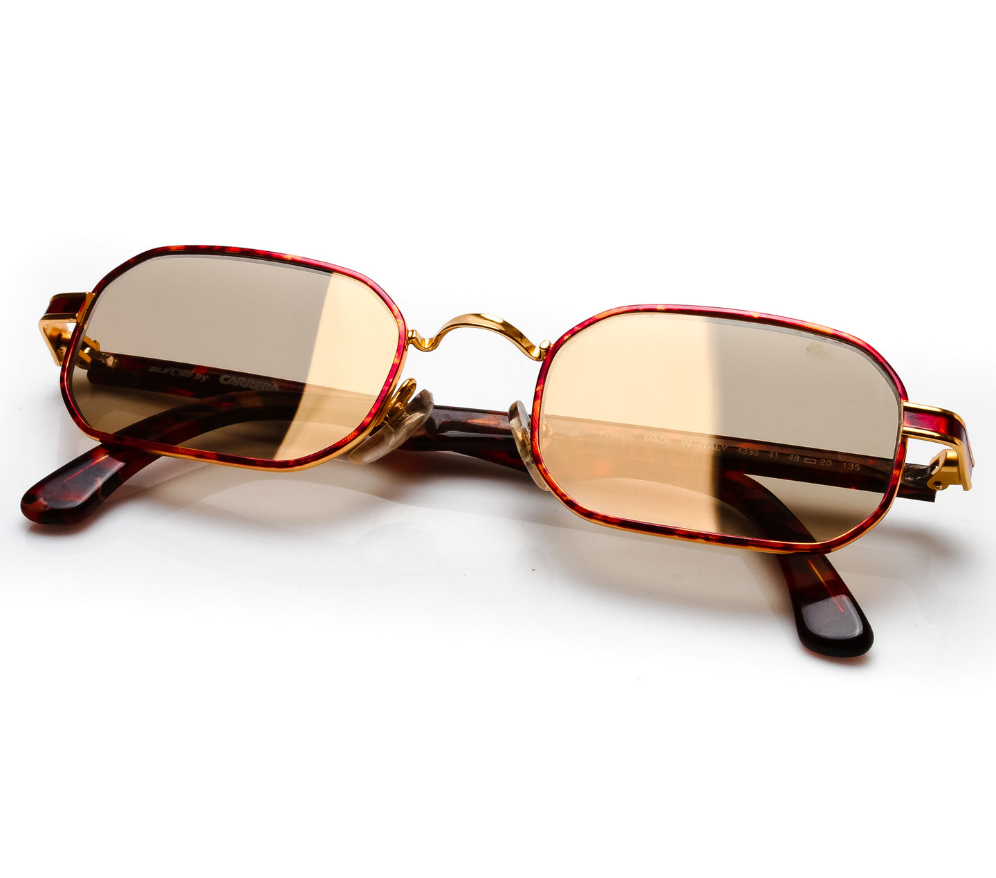 VF by Vintage Frames Remix Carrera (Gold Dust Flash Gold Flat Lens) thumbnail, VF by Vintage Frames , glasses frames, eyeglasses online, eyeglass frames, mens glasses, womens glasses, buy glasses online, designer eyeglasses, vintage sunglasses, retro sunglasses, vintage glasses, sunglass, eyeglass, glasses, lens, vintage frames company, vf